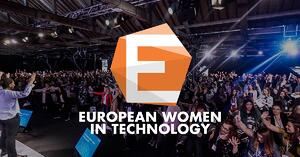 European Women in Technology: Agenda at a glance