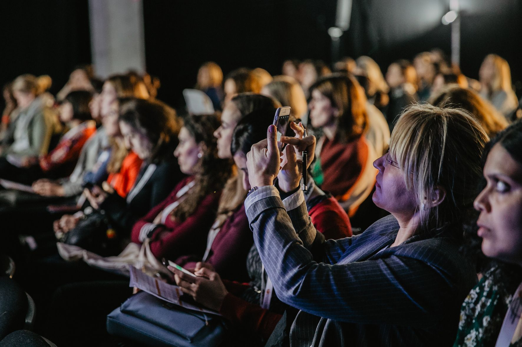 Crowd at European Women in Technology 2018-1