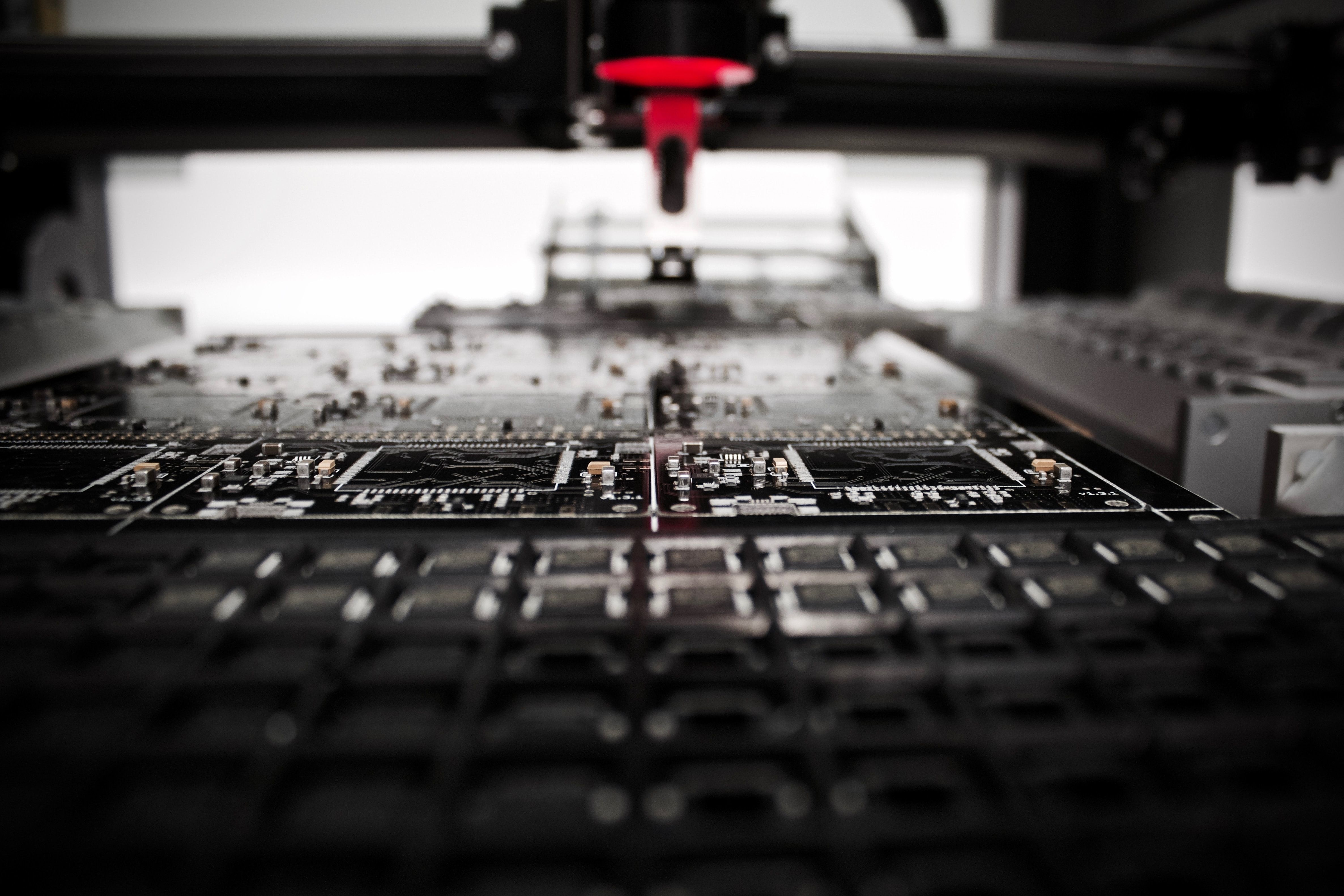 industrial factory close up photo of machine